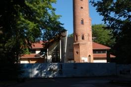 Prace budowlane na Górze Chełmskiej w 2018 roku